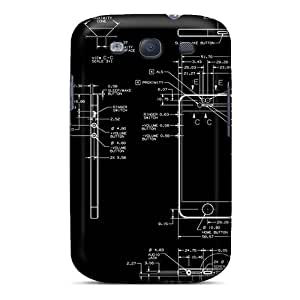 Slim Fit Tpu Protector Shock Absorbent Bumper Iphone 5 Design Case For Galaxy S3