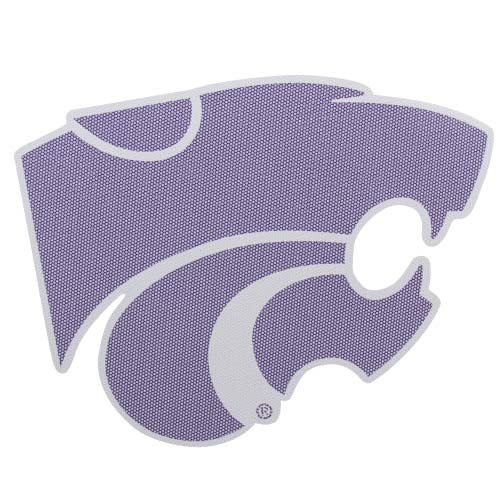 NCAA Kansas State Wildcats Large Perforated Window Decal