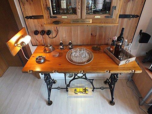 Whisky-Schrank - Drum Table bestellen