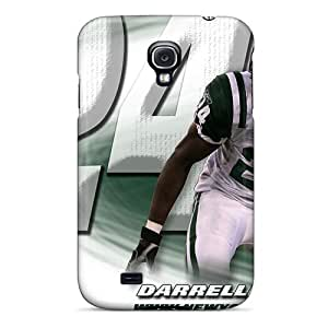 Best Hard Cell-phone Cases For Samsung Galaxy S4 With Support Your Personal Customized High-definition New York Jets Skin KellyLast
