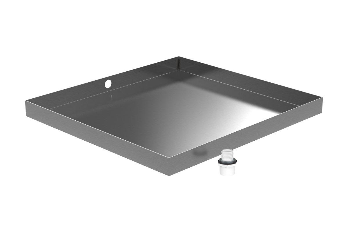 32'' x 30'' Stainless Washing Machine Drain Pan