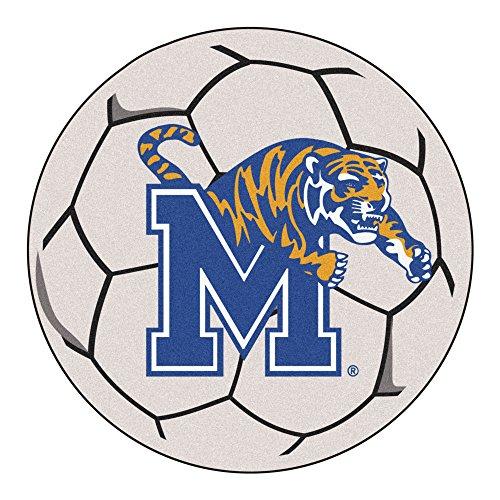 (NCAA University of Memphis Tigers Soccer Ball Mat Round Area Rug)
