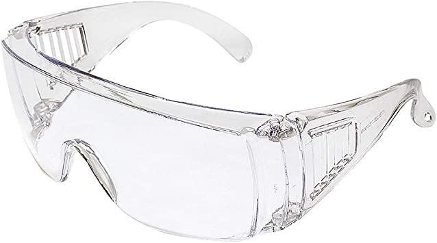 Birdz Visitor Clear Lab Safety Fit Over Protective Glasses For Dyi Projects Landscaping Amazon Com