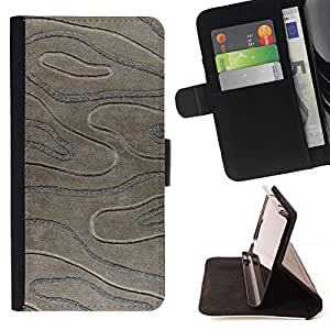 Black Stone Imitation 3D Pattern - Modelo colorido cuero de la carpeta del tirón del caso cubierta piel Holster Funda protecció Para Apple (5.5 inches!!!) iPhone 6+ Plus / 6S+ Plus