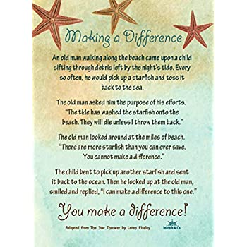 photograph about Starfish Story Printable named : Starfish Tale Poem Manufacturing a Change
