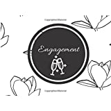 """Engagement: White Lilies Design: Guest Book 