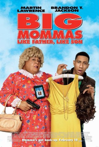 BIG MOMMA'S HOUSE 3 - 13.5x20 INCH PROMO MOVIE POSTER