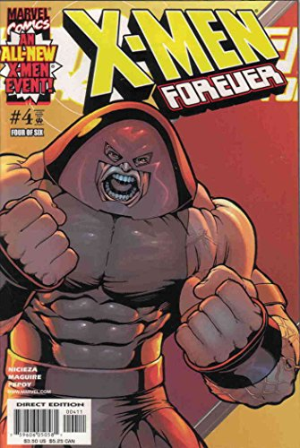 X-Men Forever #4 VF ; Marvel comic book