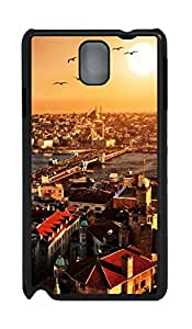 Fashion Style With Digital Art - Cityscape Skid PC Back Cover Case for Samsung Galaxy Note 3 N9000