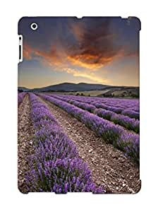 New Style Resignmjwj Nice Lavender Field Premium Tpu Cover Case For Ipad 2/3/4