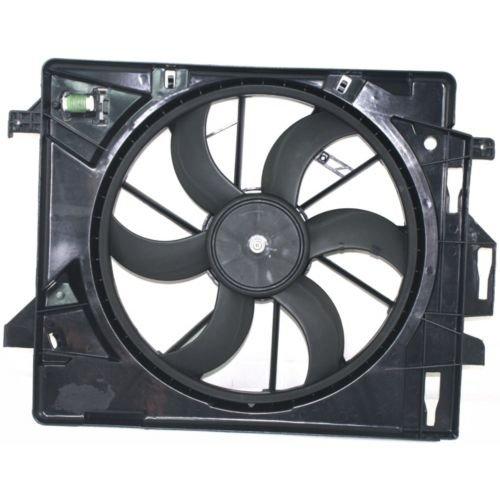 MAPM Premium GRAND CARAVAN 08-14 RADIATOR FAN SHROUD ASSEMBLY, Fan Module