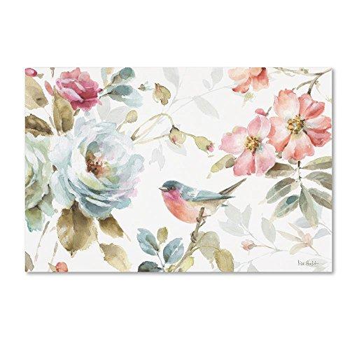 Beautiful Romance IV by Lisa Audit, 12x19-Inch Canvas Wall Art - Lisa Audit Rose