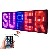 NEW SMD LED SIGN 39' X 14' BRIGHT LED SCROLLING MESSAGE DISPLAY / PROGRAMMABLE BUSINESS ADVERTISING TOOLS
