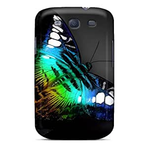 Gsm2153NAAZ Tpu Phone Case With Fashionable Look For Galaxy S3 - Butterfly