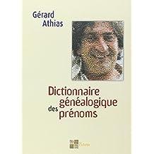Dictionnaire généalogique desprénoms