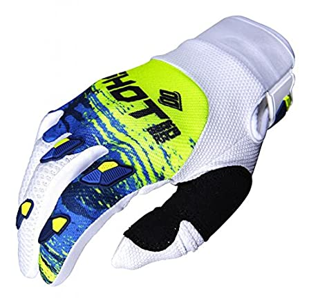 SHOT Paire de Gants Cross Contact Counter bleu