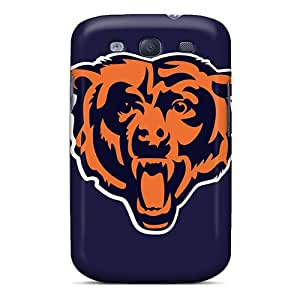 Shock-Absorbing Hard Cell-phone Case For Samsung Galaxy S3 (Wcs12775bxPi) Custom Colorful Chicago Bears Skin