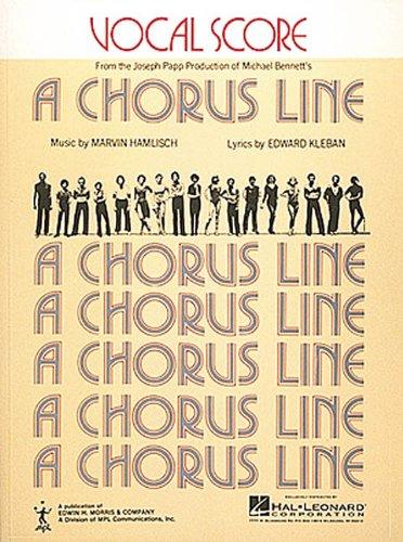 (Chorus Line, A (Vocal Score))