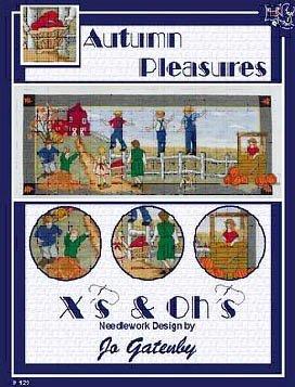 Autumn Pleasures Cross Stitch Chart (Autumn Chart)