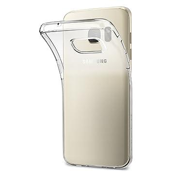 Spigen 556CS20032 Liquid Crystal Kompatibel mit Samsung Galaxy S7 Edge Hülle