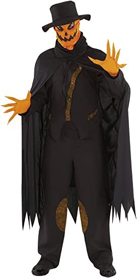 Haunted House - Disfraz de calabaza siniestra, para adultos, talla ...