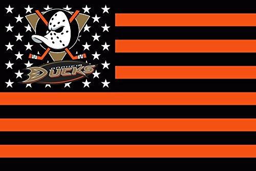 - Beautiful Life NHL Sign Hockey Sports Fan Exclusive Flag (Anaheim Ducks)