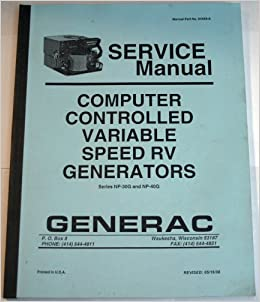 Computer Controlled Variable Speed RV Generators (Service
