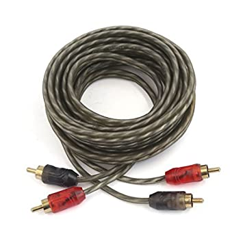 DealMux 2 RCA macho a macho Cable de Audio Video AV divisor de señal de cable
