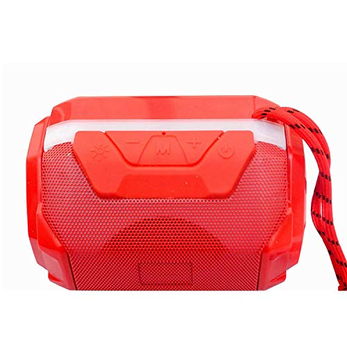 Tulua A005 Portable Wireless Bluetooth Speaker Compatible with All Android and iOS Devices and Smartphones (Red)