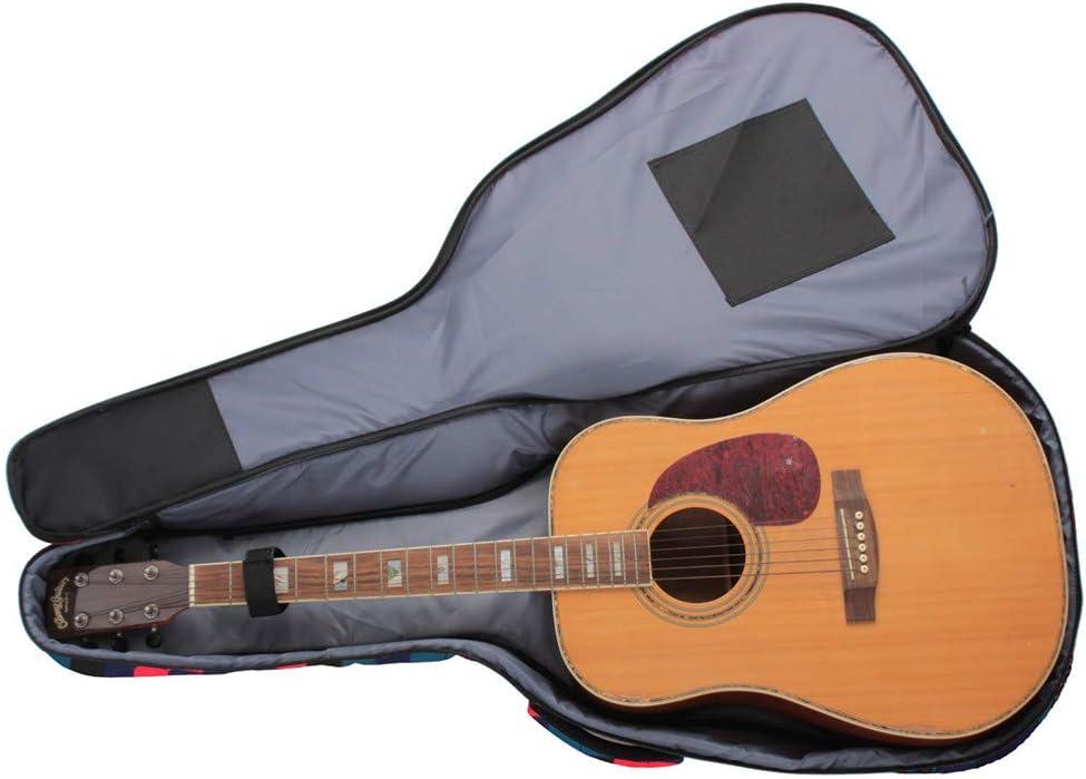Blu Custodia impermeabile per chitarra acustica 40//41 pollici Higger