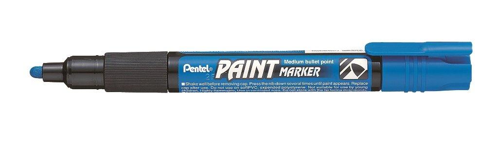 Pentel Permanentmarker Paintmarker grau 2mm Rundspitze deckend Lackmarker MMP20