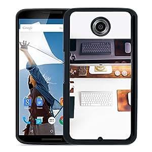 Unique Designed Cover Case For Google Nexus 6 With Mo Mac Apple Desk Jeff Sheldon Office Phone Case