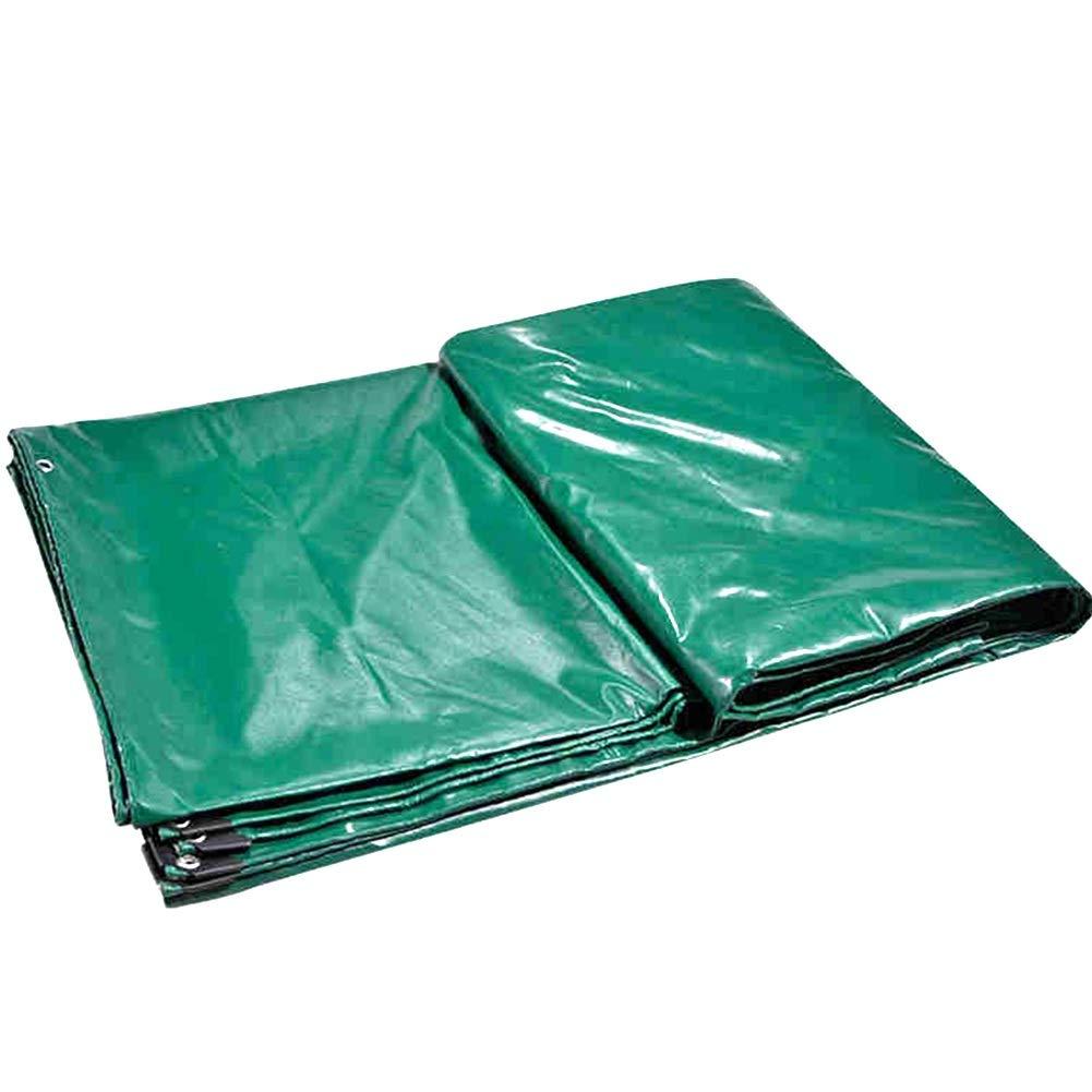 Pioggia Incatramata Panno Antipioggia Addensato Super No Odore Resistente agli Odori Facile Pieghevole Rivestito in Tessuto Auto Gomma verde HENGXIAO (colore   verde, Dimensioni   4  5m)