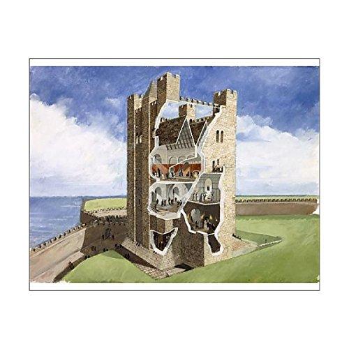 10x8 Print of Scarborough Castle J000084 (472082) - Scarborough Castle