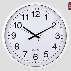 SNEED-European clocks large wall clock creative fashion living room mute clock modern hotel idyllic pocket watch , white