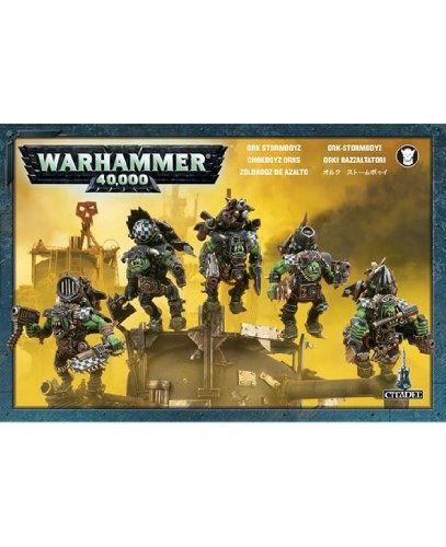 Games Workshop Jeux Atelier 251 765 061 670,8 cm Warhammer 40 K Space Ork Stormboyz 2009 Action Figure 8 cm Warhammer 40 K Space Ork Stormboyz 2009 Action Figure 99120103020
