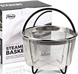 Primica 6 Quart Steamer Basket Instant Pot Accessories Compatible with the Instant Pot Pressure Cooker - Easily One of The Most Durable Instant Pot Accessories
