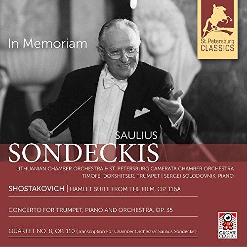 In Memoriam - Saulius Sondeckis (CD)