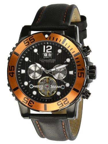 Calvaneo Sea Command Black PVD / Orange