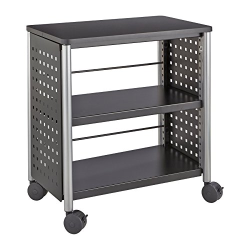 Safco Products 1604BL Scoot Personal Bookcase, Black ()