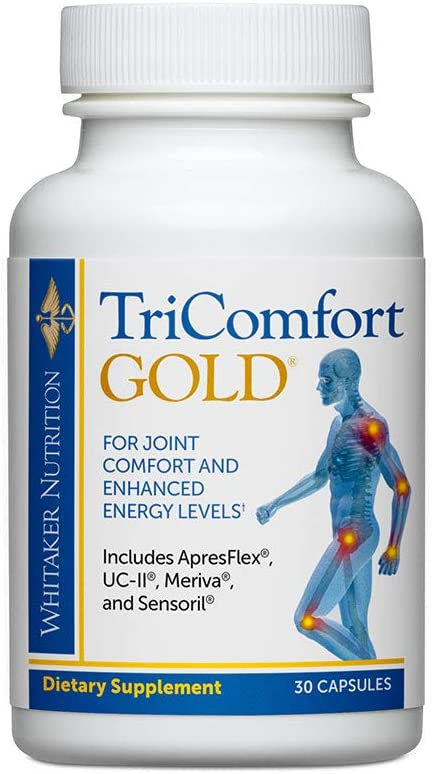 Dr. Whitaker s TriComfort Gold Supplement Delivers Ashwagandha for Powerful Joint Health, Energy and Mood in Just One Small Pill a Day
