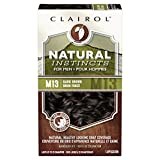 Clairol Natural Instincts Semi-Permanent Hair Color Kit For Men, 3 Pack, M13 Dark Brown Color, Ammonia Free, Long Lasting for 28 Shampoos