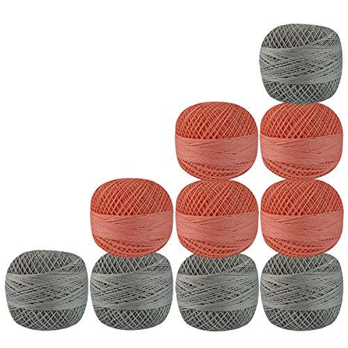 Crochet Cotton Light Peach - 9