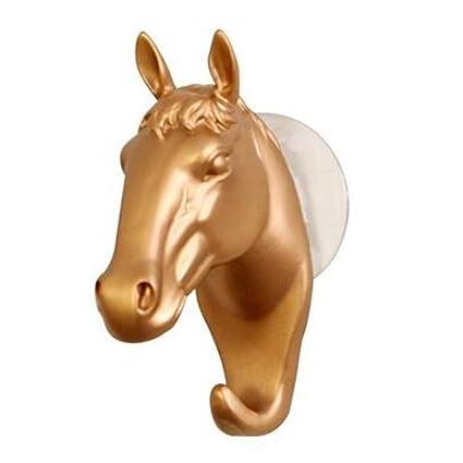 dragonaur cabeza de caballo gancho de pared moderna con ...