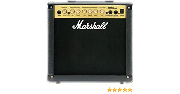 Amazon.com: Marshall MG15CDR Combo Amplifier With Reverb Electric Guitar Combo Amp: Musical Instruments