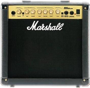 Amplificador para guitarra Marshall MG15CD MG-15CD 15 Watt: Amazon.es: Electrónica