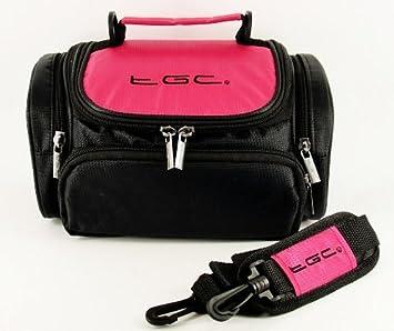 DSC-HX400 DSC-HX400V Plus Accessories Cool White DSC-H400 TGC /® Large Camera Case for Sony Cyber-shot DSC-H300