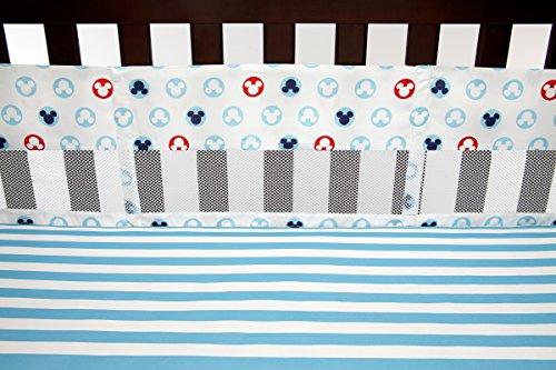 Disney 6520780 Crib Liner Mickey