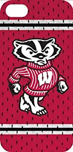 2015 CustomizedVintage Jersey Hardshell Case for iPhone 4/4S - Wisconsin Badgers