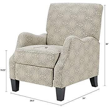Amazon.com: Kirby silla reclinable, gris: Kitchen & Dining